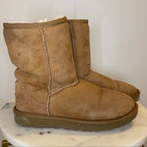 UGG Boots Classic Short Chestnut Brown